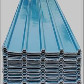 Colored Corrugated Steel Sheet Large Image For Steel Sheet